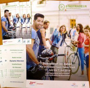 Flyer und Plakate Stadt Düsseldorf und Dynamo Wersten