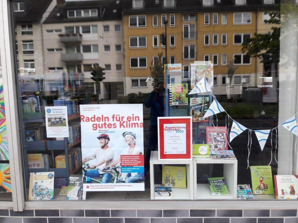 Schaufenster Stadtteilbücherei